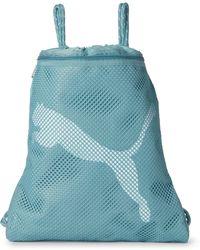 PUMA - Light Blue Pastel Revive Carrysack - Lyst