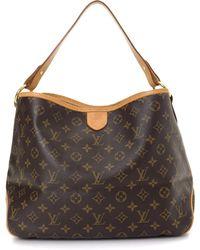 Lyst - Louis Vuitton Delightful Pm Shoulder Bag Monogram Canvas ... 5433f90d15b1b
