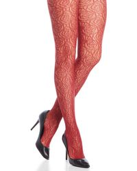 Jessica Simpson | Floral Tights | Lyst
