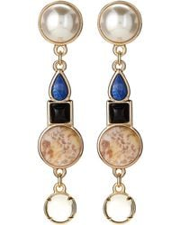 Lulu Frost - Eartha Faux Pearl Drop Earrings - Lyst
