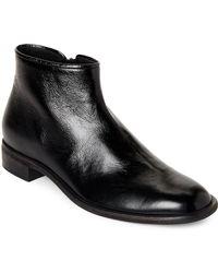 Giuseppe Zanotti - Black Tyson Leather Ankle Boots - Lyst