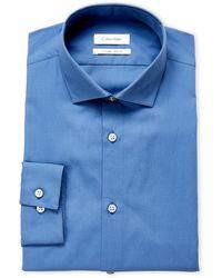 Calvin Klein - Cornflower Extreme Slim Fit Dress Shirt - Lyst