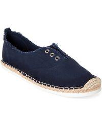 5fa6892f5 Madden Girl - Navy Erinn Espadrille Slip-on Sneakers - Lyst