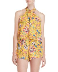 f038b0b3b18 Athena Desert Escape Rem Swim Romper One-piece in Blue - Lyst