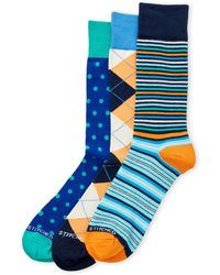 Unsimply Stitched | 3-Pack Multi-Print Crew Socks | Lyst
