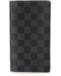 Louis Vuitton - Black Columbus Wallet - Vintage - Lyst