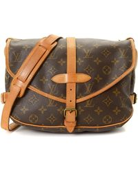Louis Vuitton - Saumur 30 Messenger Bag - Vintage - Lyst