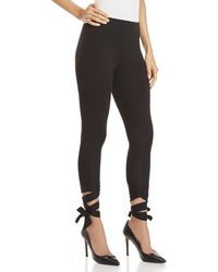Jessica Simpson - Lace-up Ankle Leggings - Lyst