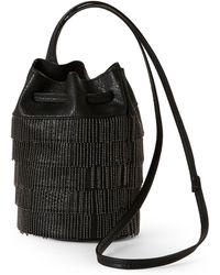 Gracie Roberts - Black Gatsby Drawstring Bag - Lyst