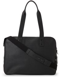 Jil Sander - Black Triple Compartment Travel Bag - Lyst