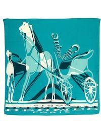 Hermès - Caleche Elastique Scarf - Vintage - Lyst