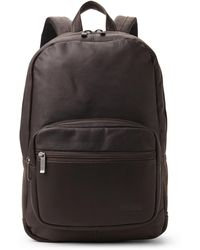 Kenneth Cole Reaction - Colombian Leather Computer Backpack - Lyst