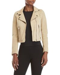 Ottod'Ame - Suede Moto Jacket - Lyst