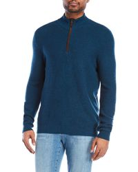 Forte   Quarter-zip Cashmere Sweater   Lyst