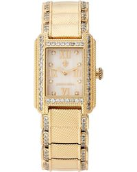 Judith Ripka | 11626 Gold-Tone Watch | Lyst