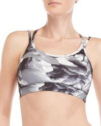 721b95a11d4 Lyst - Free People Printed Strappy Thong Grace Bralette