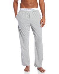 Tommy Hilfiger - Knit Leisure Sleepwear Pants - Lyst