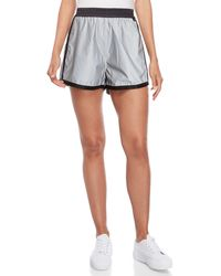 Fiorucci - Silver High-waisted Roller Shorts - Lyst