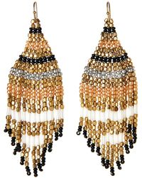 Catherine Stein - Multicolor Chandelier Earrings - Lyst