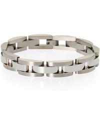 Blackjack - Linked Stainless Steel Bracelet - Lyst