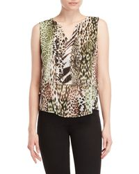 Sioni - Printed Layer Top - Lyst
