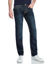 True Religion   Big Stitch Slim Fit Jeans   Lyst