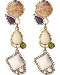 Lulu Frost - Gold-tone Marianne Statement Earrings - Lyst