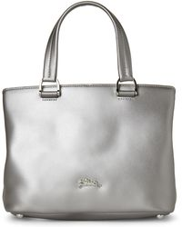 Longchamp - Silver Honore 404 Small Satchel - Lyst
