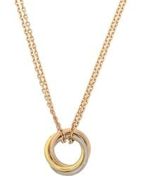 Cartier - Sweet Trinity Necklace - Vintage - Lyst