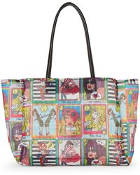 Betsey Johnson - White Mystic Tarot Cards Tote - Lyst
