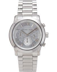 f7431a0ef63d Lyst - Michael Kors Ladies Bryn Stainless Steel Bracelet Watch in ...