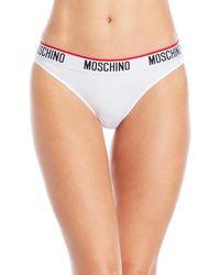 Moschino - Microfiber Briefs - Lyst