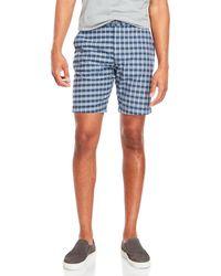 Benson | Woven Plaid Shorts | Lyst