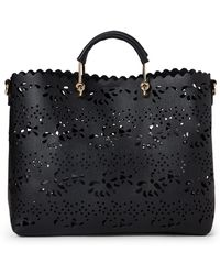 Imoshion - East/west Laser Cut Satchel - Lyst