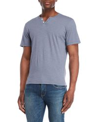 Joe's Jeans - Wintz Short Sleeve Slub Henley - Lyst