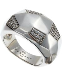 Ron Hami - Sterling Silver Carved Ring Size 6 - Lyst