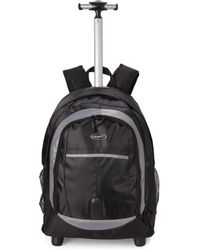 Olympia - Black Delta Rolling Backpack - Lyst