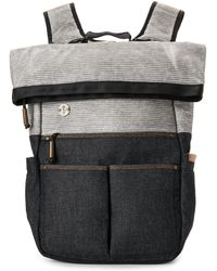 Focused Space - Denim Expedition Rolltop Backpack - Lyst