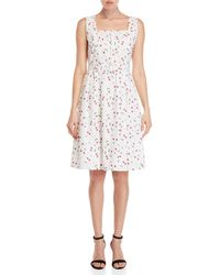 Yumi' - Cherry Conversational Dress - Lyst