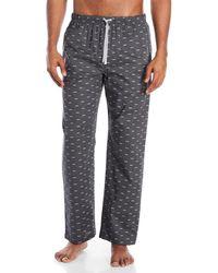 Michael Kors - Logo Print Woven Pajama Pants - Lyst