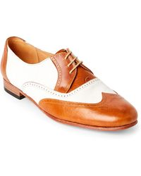 Dieppa Restrepo - Coca Colo Two-Tone Brogue Wingtip Oxfords - Lyst