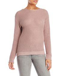 Love Tree - Braided Crisscross Sweater - Lyst