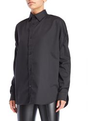 Hood By Air - Woven Church Girls Shirt - Lyst