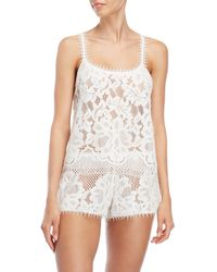 Rya Collection - Breeze Lace Cami & Shorts Set - Lyst