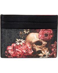 Dior - Darklight Vanité Coated Canvas & Leather Card Case - Lyst