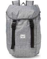 160dbb54d4 Lyst - Herschel Supply Co. Harrison (raven Crosshatch 1) Backpack ...