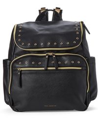French Connection - Black Eyelet Diaper Backpack - Lyst