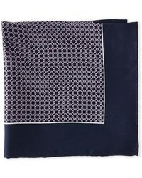 Pierre Cardin - Chain Link Pocket Square - Lyst