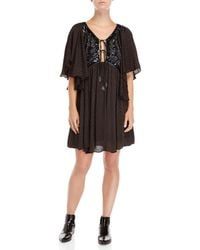 Free People - Moonglow Sequin-embellished Mini Dress - Lyst