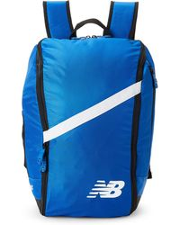 New Balance - Royal Blue & White Team Ball Backpack - Lyst
